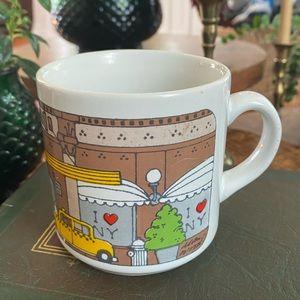 Vintage I Love New York Macy's Coffee Mug